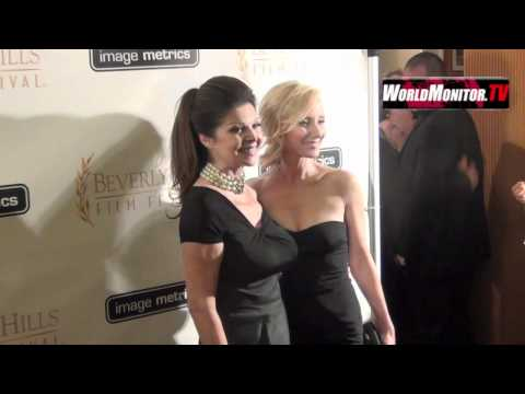 Anne Heche, James Tupper arrive at 12th Annual Beverly Hills Film Festival  night