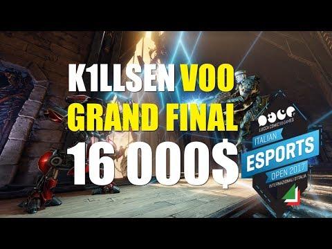 GRAND FINAL + ENDING k1llsen vs vo0 Italian Esports Open 2017