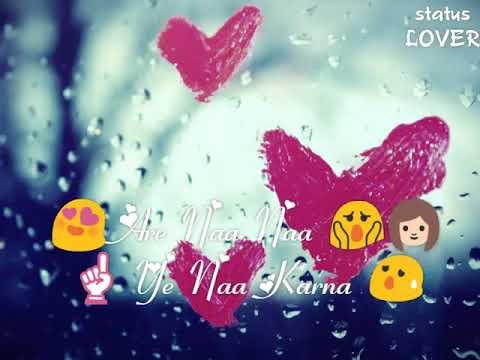 30 Second Whatsapp Lyrical Status Video 😘   Badshaho - Keh Du Tumhe Ya Chup Rahoon Song 😘
