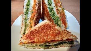 तिरंगा सैंडविच  | Tri-Color Sandwich | Tiranga Sandwich Recipe | Independence Day Special Sandwich