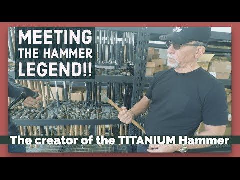 Trip to meet the HAMMER LEGEND!!