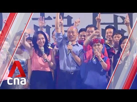 Taiwan votes 2020: President Tsai and main rival Han Kuo-yu make last pitches on election eve