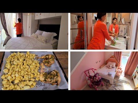 grosse-crise-//-ma-journÉe-de-maman-au-foyer-mÉnage,-organisation,-recette-poulet-au-thermomix