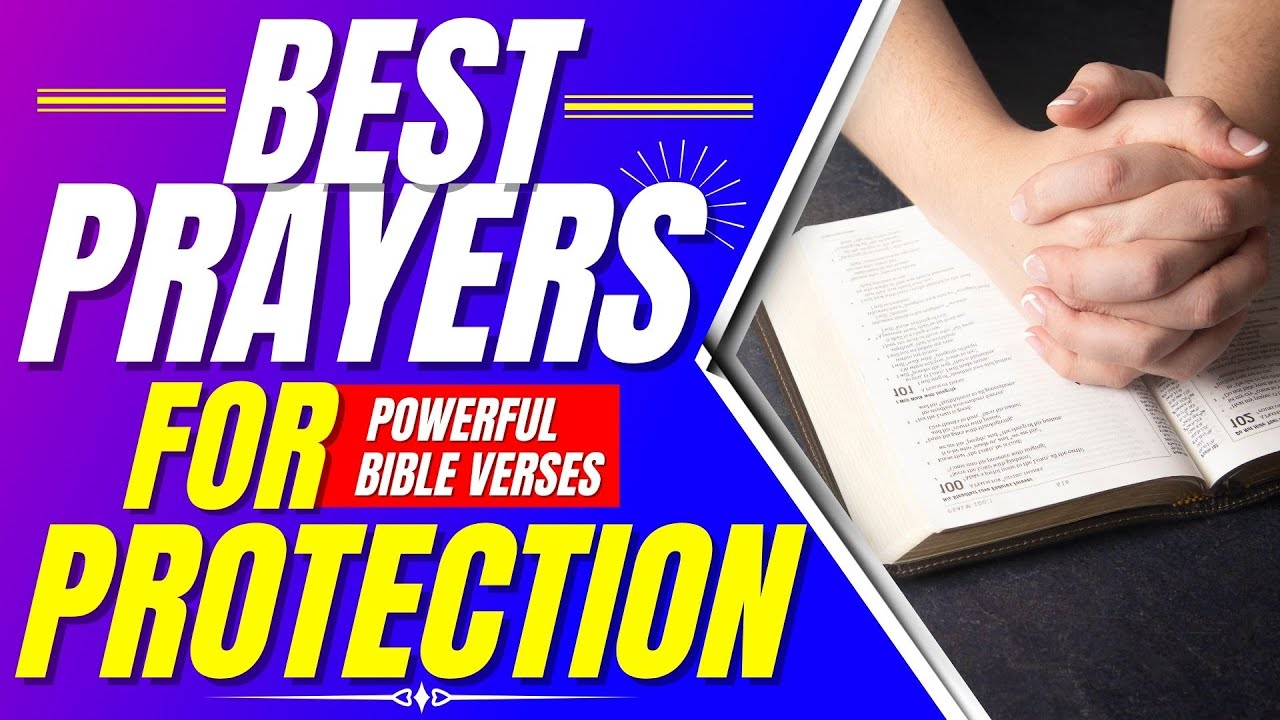 Prayers for protection from Psalm 91, 34, 61, 7, 31 (Bible verses for sleep with God's Word)