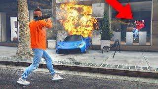 Tür blockieren prank ! GTA 5 TROLLING