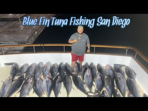 2019 BLUE FIN TUNA FISHING SAN DIEGO CA AND TACKLE REVIEW
