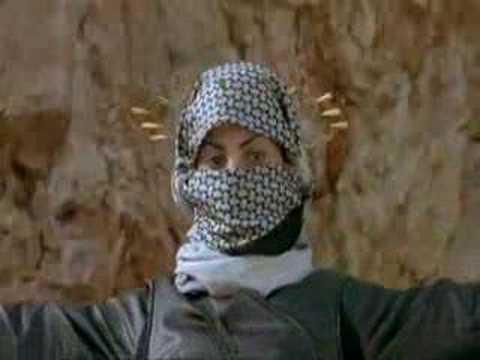 Palestinian Woman defeats Israeli Commandos