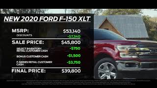 Get 13,000 off MSRP on New F-150! | Lebanon Ford