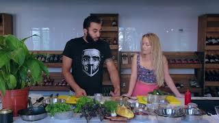 Ночной_жор или #накорми_катю|Армянский салат|Огурцы и девственницы|. Выпуск 1.