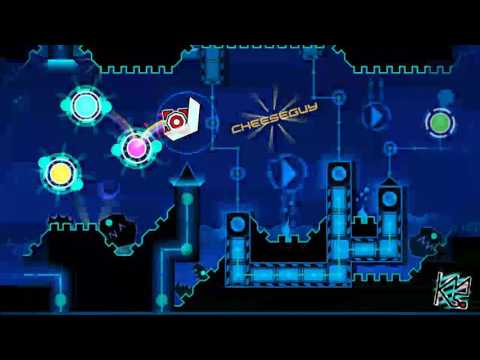 Geometry Dash - Cosmic Calamity by SrGuillester (Demon) Complete + 3 Coins (Live)