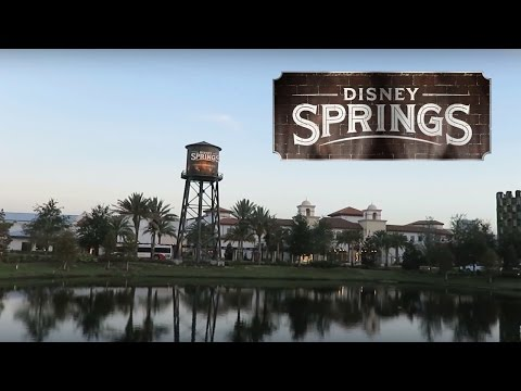 Disney Springs Construction Update + New Town Center (Part 1)