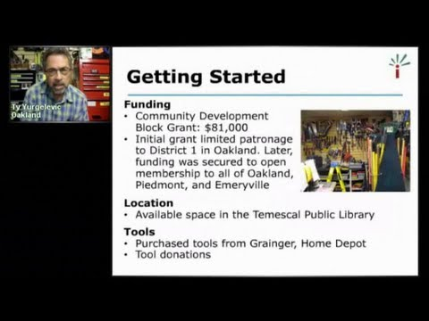 Webinar Recording: How to Start a Tool Library in Your Community