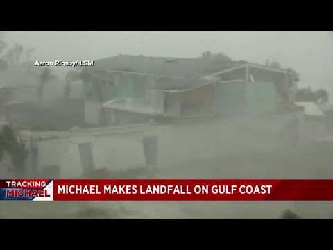 Florida Panhandle slammed by Hurricane Michael