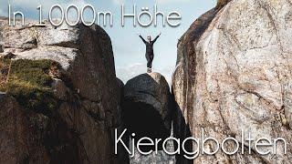 Fels über dem ABGRUND: Wir wandern zum KJERAGBOLTEN  // Norwegen Raodtrip Vlog05 (re-Upload)