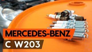 Wie MERCEDES-BENZ С W203 Zündkerze wechseln [TUTORIAL AUTODOC]