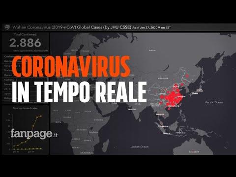 Coronavirus, La Mappa Che Mostra In Tempo (quasi) Reale La Diffusione Del Virus Nel Mondo