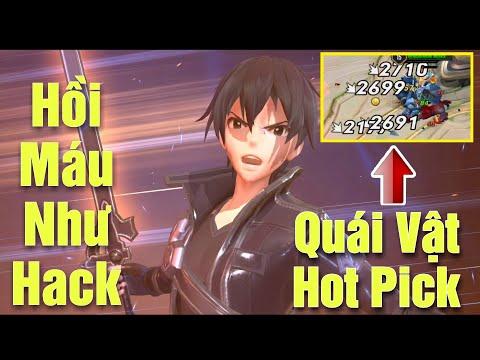[Gcaothu] Allain tuyên bố lên ngồi trùm Hot Pick - Sát thương chuẩn to và hồi máu như Hack