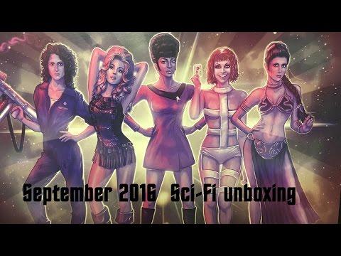 Sci-Fi Block unboxing  - September 2016