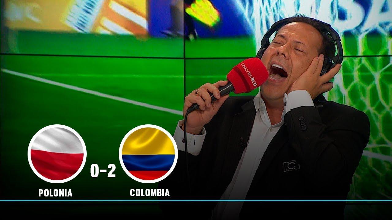Polonia vs Colombia: así narró El Cantante los dos goles de la Selección en  el Mundial Sub-20