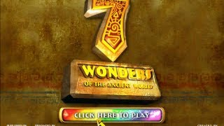 Playing: 7 Wonders of the Ancient World