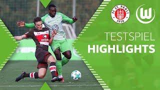 FC St. Pauli - VfL Wolfsburg   HIGHLIGHTS   Tag 3   Testspiel