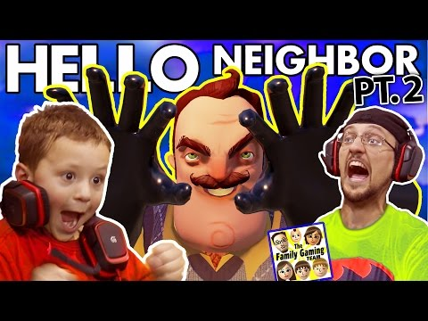 WE SCARED OUR BLIND NEIGHBOR!?  FGTEEV...