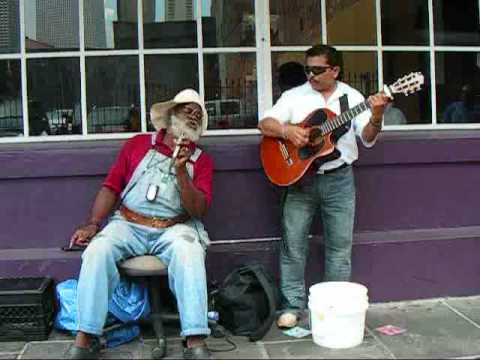 "Grandpa Elliot & Oscar Castro - ""Only You"" -  New Orleans Street Music"