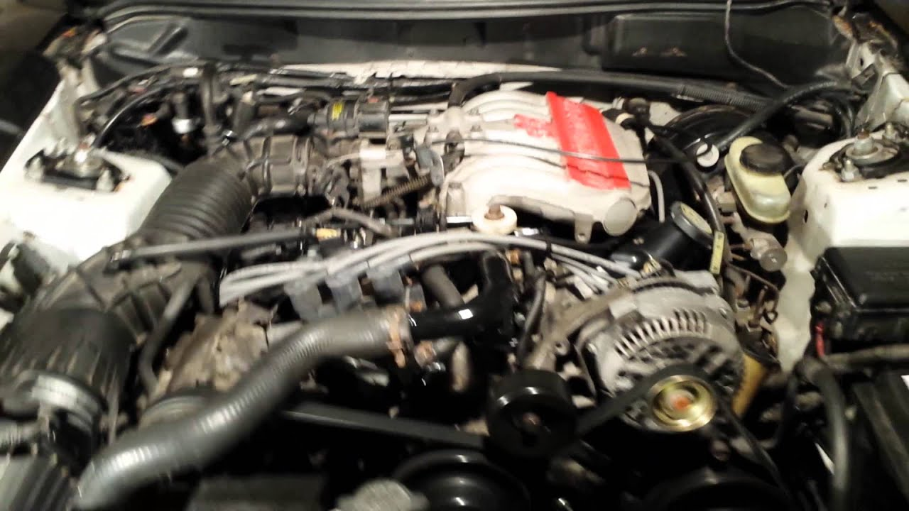95 ford mustang 3 8 v6 idling youtube 2002 Ford Taurus 3.0 Engine Ford F 150 3.7 V6 Engine