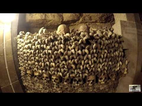 Catacombs of Paris in 4K - Walking Through 6 Million Dead