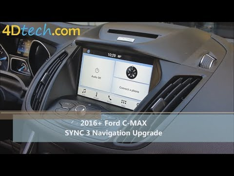 Add Factory Navigation to SYNC 3 | 2016+ Ford C-MAX