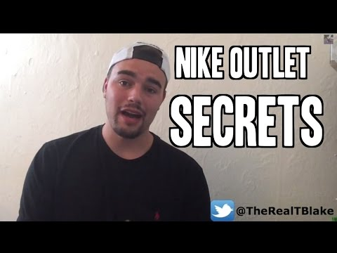 Nike Outlet Hack - 3 Secrets About Nike Outlets