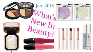 New Beauty: Try-On & Reviews (Jan. 2018)