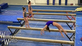 Balance Beam Series Training | Whitney Bjerken Gymnastics