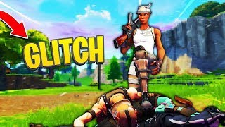 GLITCH to SEE THE ENEMIES to TRAVERS MURS on FORTNITE (Glitchs, Tips)
