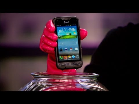 Samsung Rugby Pro toughens up Android
