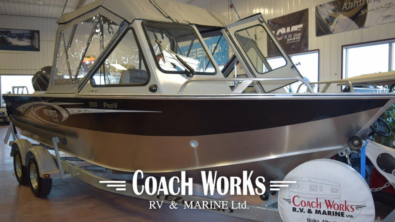 Coachworks Marine- 2017 Hewescraft 200 Pro-V