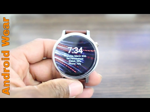 Top 5 Android Wear Watch Faces