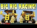 BIG VEHICLES, SMALL ROADS RACE! - Brick Rigs Multiplayer Gameplay Ep6