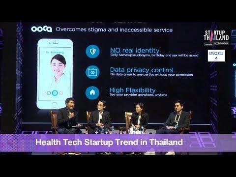 Health Tech Startup Trend in Thailand