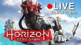 ЗЕМЛЯ УЖЕ НЕ НАША! ОГРОМНЫЕ МЕХАНИЧЕСКИЕ ЧУДОВИЩА СРЕДИ НАС! - Horizon: Zero Dawn Прохождение #1