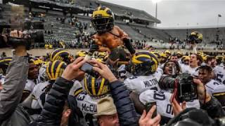 Michigan Football: Patterson displays extreme grit as Wolverines down Spartans