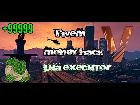 FiveM NEW Admin Hack + Unlimited MONEY 2018
