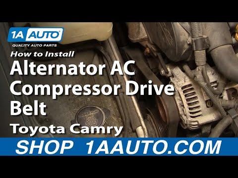 How To Replace Alternator AC Compressor Drive Belt 92-96