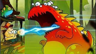 БОЛОТНАЯ Атака #42  БОСС БИТВА с БОССАМИ Мультик Игра для детей Swamp Attack #Мобильныеигры