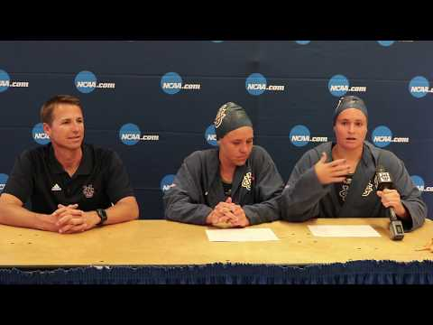 Women's Water Polo NCAA Opening Round Postgame Press Conference
