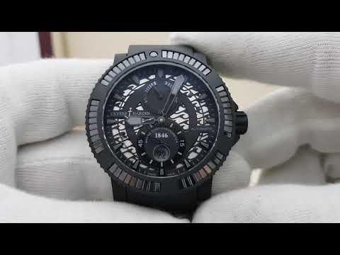 Обзор часов Ulysse Nardin Marine Diver Black Sea реф 263-92/B3-3C/923
