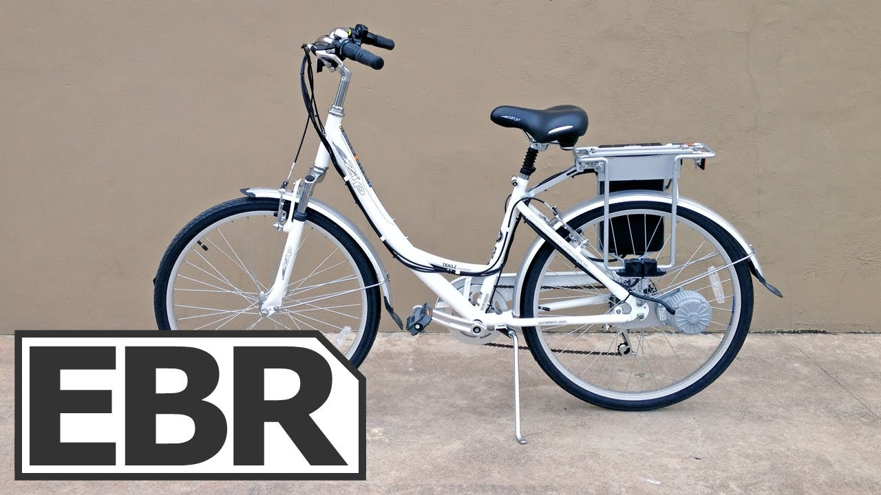 Ezip Trailz Commuter Video Review Cheap Electric Bike