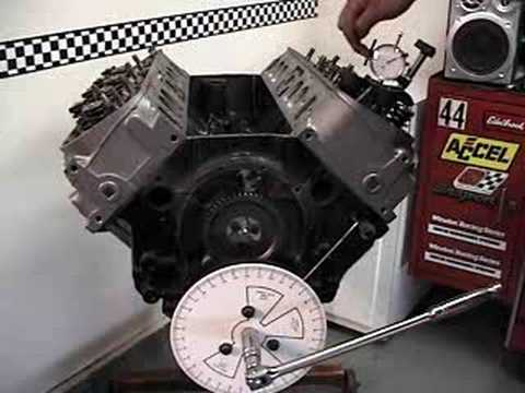 How To Crankshaft Camshaft Timing Degree Wheel Instructions On Dvd