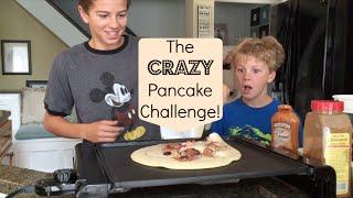 The Crazy Pancake Challenge | Flippin' Katie