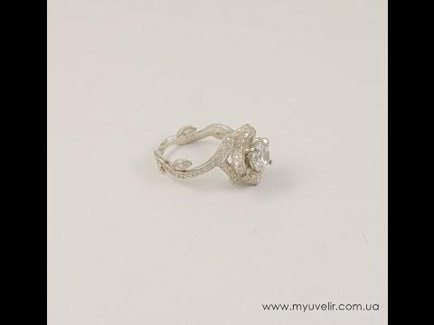Золотые кольца с бриллиантом цена в ювелирном магазине